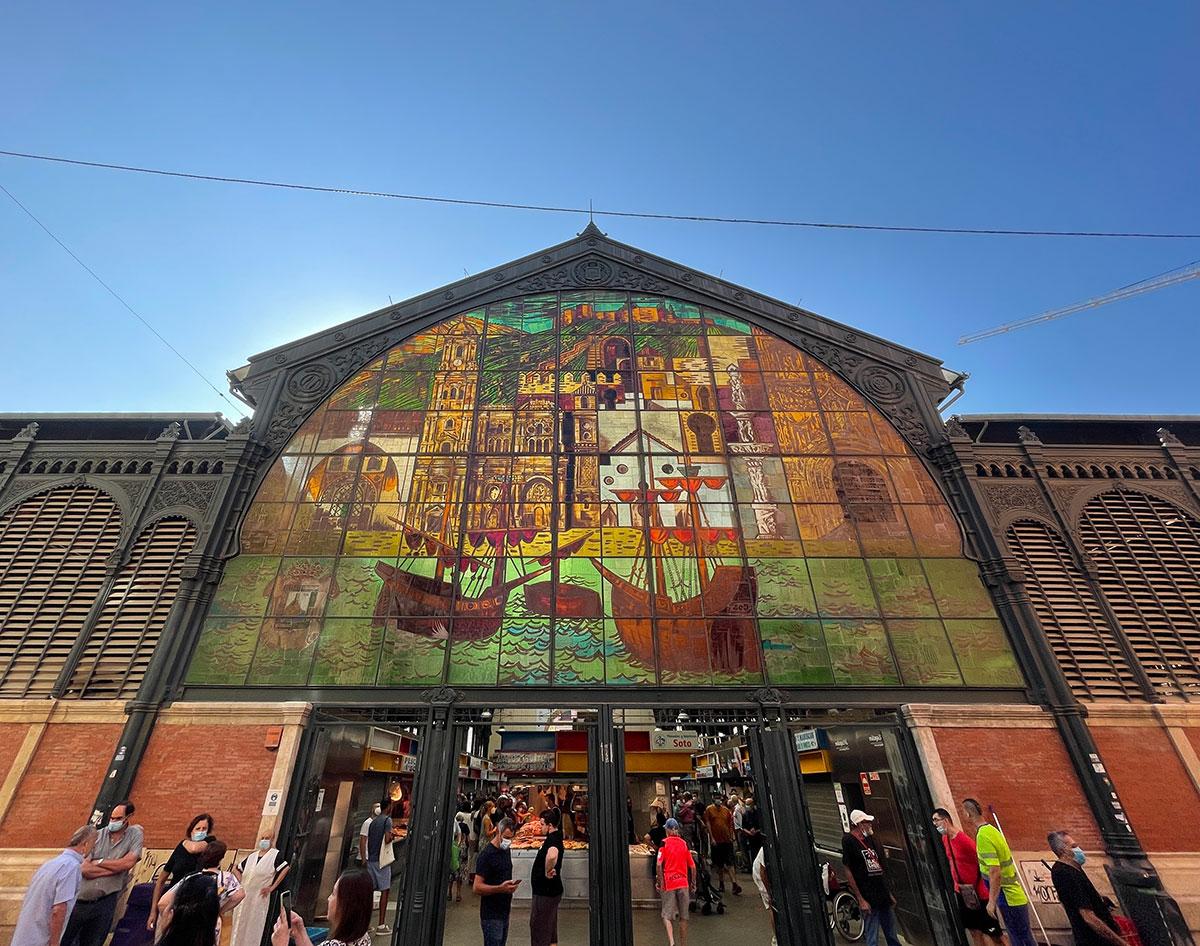façade of Mercado de Atarazanas