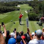 Golf tournament tee